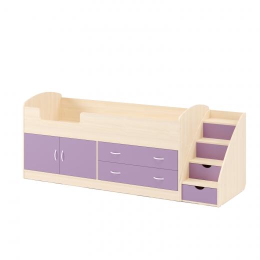 Белёный дуб + Фиолет